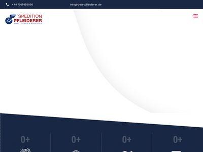 Spedition Pfleiderer GmbH + Co KG