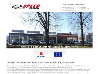 Speed - Autodienst GmbH Bernau