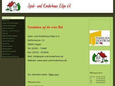 Kindergarten Spiel- u. Kinderhaus Hohenlimb…