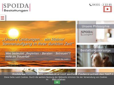 Spoida Bestattungen GmbH + Co. KG
