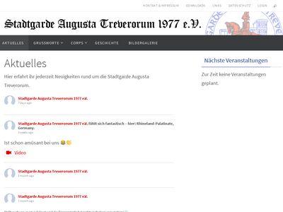 Stadtgarde Augusta Treverorum