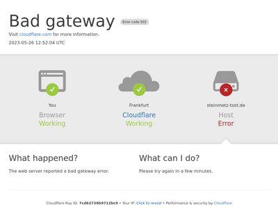 Steinmetz Tost