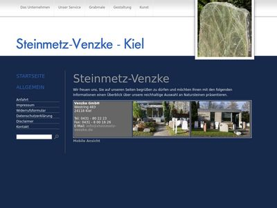 Grabdenkmale - Venzke GmbH Steinmetzbetrieb