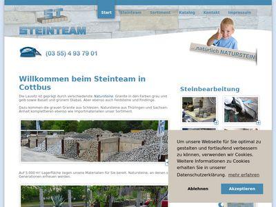Heinrich Christian Steinteam Cottbus