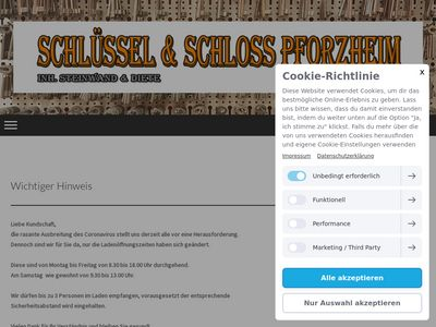Schlüssel-Schloss-Pforzheim