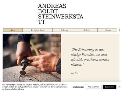 Boldt Andreas Steinwerkstatt