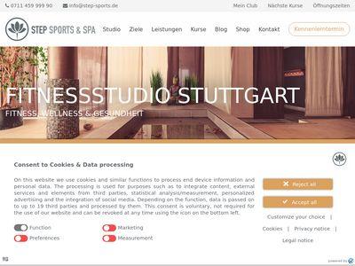 Step Sports & SPA Stuttgart