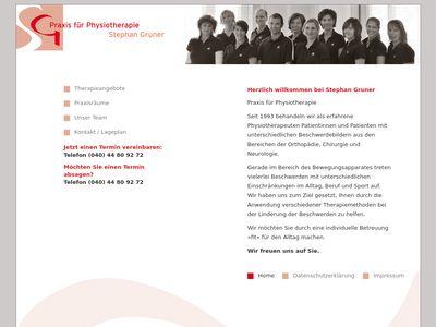 Gruner Stephan Praxis für Krankengymnastik