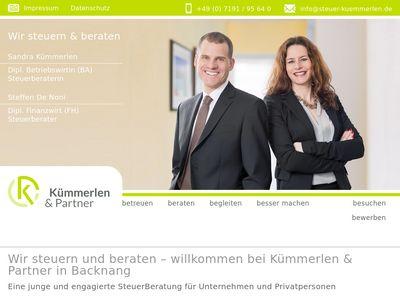 Kümmerlen + Partner Steuerberater in 71522 Backnang