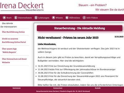 Steuerberatung Irena Deckert
