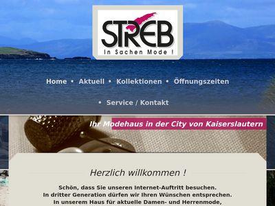 Modehaus Streb e.K., Inhaber: Andreas Streb