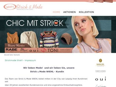 Strick-u. Mode WIEHL + Änderungsschneiderei