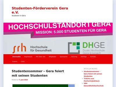 Studenten Förderverein Gera e.V.