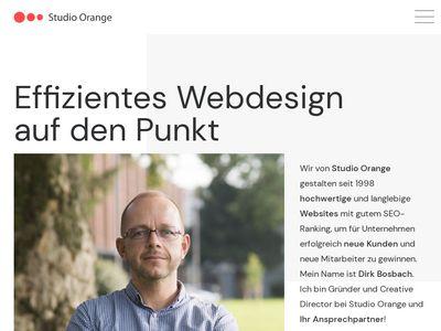 Studio Orange Webdesign