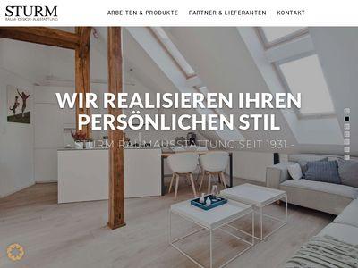Sturm GmbH, Raumausstattung