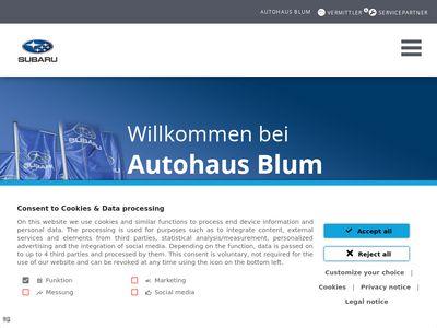 Autohaus Schneider Inh. Siegfried Schmidt