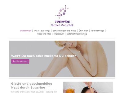 Munschek Nicolet Sugaring