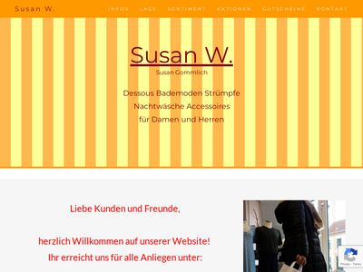 Dessous & Bademoden Susan W.