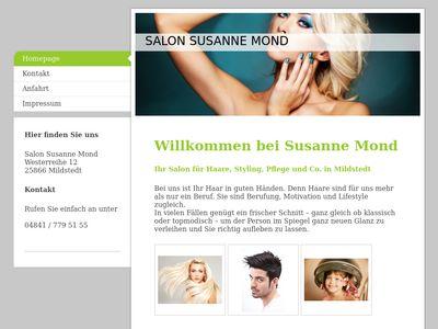 Susanne Mond Haare Make-Up Fashion