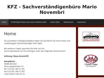 Mario Novembri KFZ-Sachverständiger
