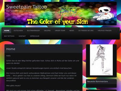 Sweet Pain Tattoo