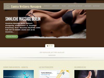 Tantra Wellness Massagen
