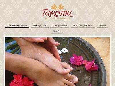 Taroma Thai Massage Herten