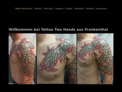 Tattoo Two Hands Frankenthal
