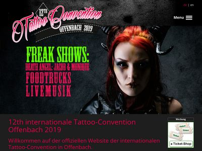 Tattoo Convention Offenbach, Germany