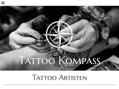 Kompass Tattoo