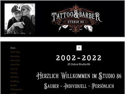 Studio 86 Tattoo Loft