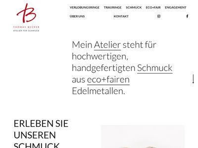 Thomas Becker - Atelier für Schmuck