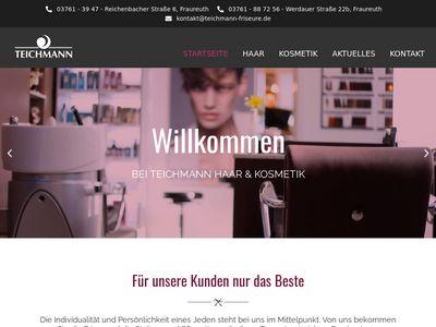 Teichmann Anja Haar u. Kosmetik Friseur