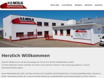 H.O. Nicolai-Fussbodenbau GmbH