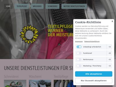 Wolfgang Werner Textilpflege
