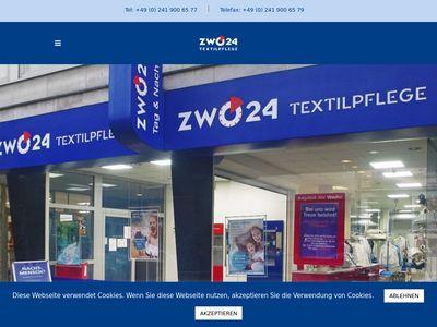 Textilpflege ZWO24 Textilreinigung