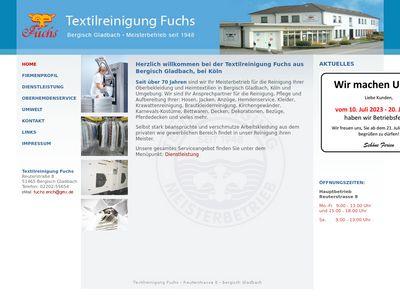 Textilreinigung Fuchs
