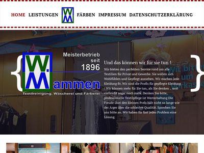 W. Mammen Textilreinigung