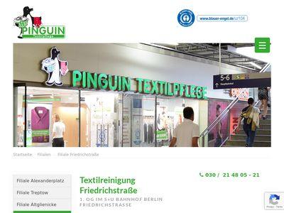 Pinguin Textilpflege Serviceges. mbH