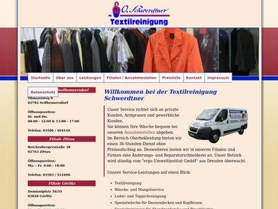 Textilreinigung O. Schwerdtner