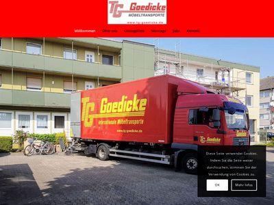 Goedicke Thorsten Umzüge und Transporte