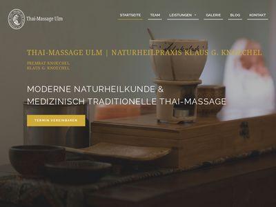 Massagestudio für Thai-Massage