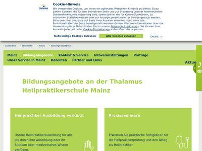 Thalamus Heilpraktiker-Schule Mainz