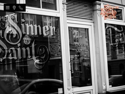 The sinner and the saint tattoo
