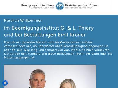 Beerdigungsinstitut Kröner Saarbrücken