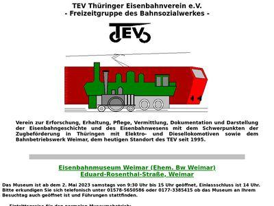 TEV Thuringer Eisenbahnverein e.V.