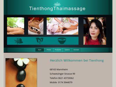 Thai massage Tienthong