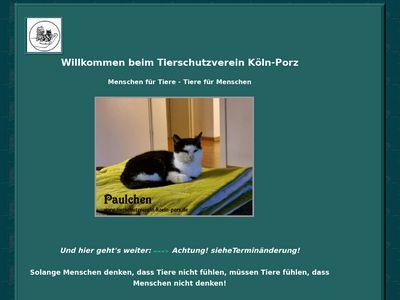 Tierschutzverein Köln Porz