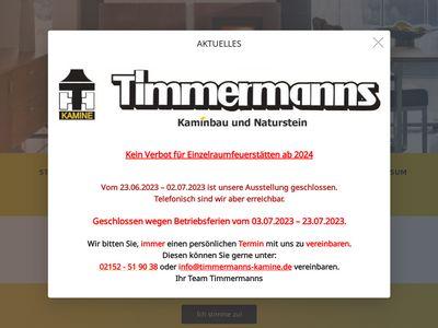 Timmermanns Kamine & Naturstein