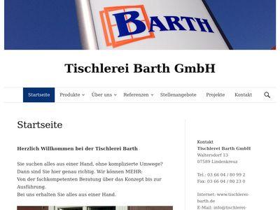 Tischlerei Barth GmbH